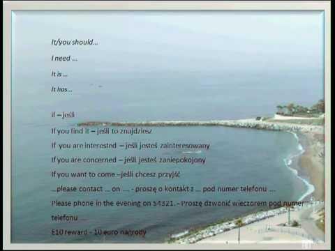 Matura 2012 - J. Angielski: Jak Napisać Ogłoszenie?