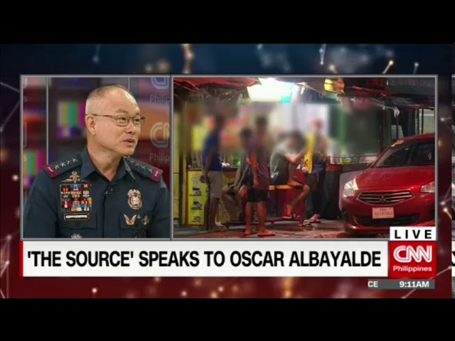 'The Source' speaks to PNP Chief Oscar Albayalde