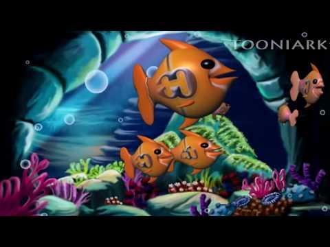 Telugu Learning's | Balasiksha | Aa Ante Amma-on Fish | By Tooniarks video
