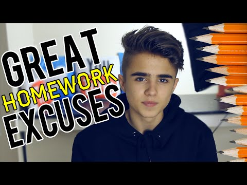 the ultimate website for homework excuses