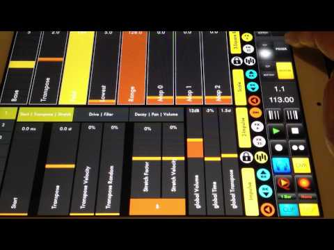 -iPad Music Dubstep- touchable+ableton LIVE+other apps Music Videos