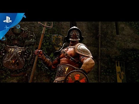For Honor: Season 3 - The Gladiator Gameplay | PS4