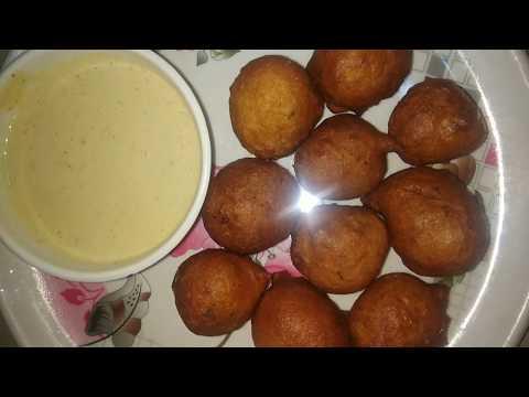 Mysore Bonda // Mysore Bajji // Mangalore Bonda // Maida Bajji