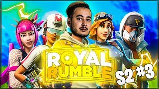 ON SE CLASH GENTIMENT AVEC LUNARY ► ROYAL RUMBLE (Saison 2 - Ep.3)