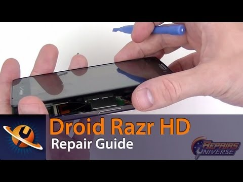 Motorola Droid Razr HD Screen Replacement Repair Guide
