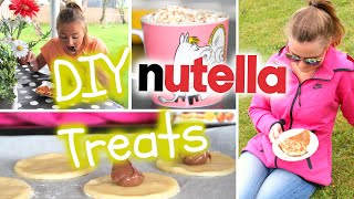 #5 Delicious DIY Nutella Treats!