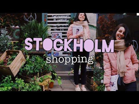 Про шведские магазины и шопинг в Стокгольме