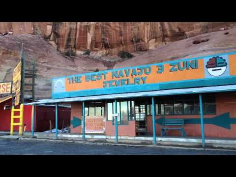 Chief Yellowhorse Route 66 Indian Trading Post - Full Tour (New Mexico and Arizona State Line)