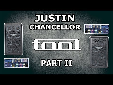 Justin Chancellor's Amplifier and Effects pedals - Know Your Bass Player (2/2) thumbnail