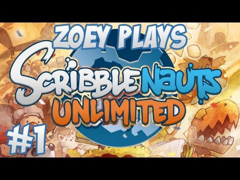 Scribblenauts Unlimited - #1 - Rythian The Scary Wizard