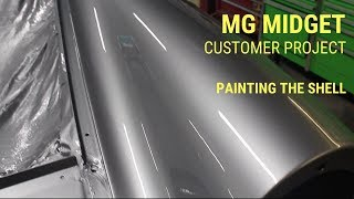 MG Midget Paint -  1980 Ferrari Grigio Ferro FER702