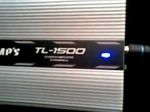 Voicer  12pol 350wrms+ taramp´s tl1500 2x95w 1x200w