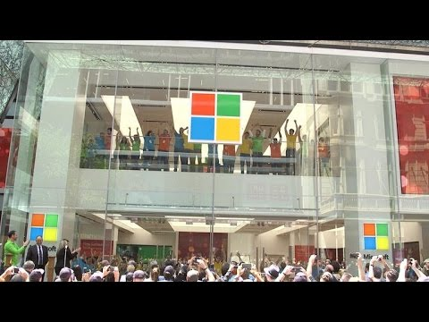 CNET News - Inside Microsoft's new flagship store in Sydney