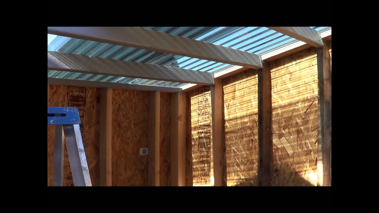 Shed Roof Youtube