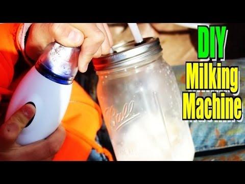 DIY Handheld Milking Machine - Milking Skills NOT Required ...