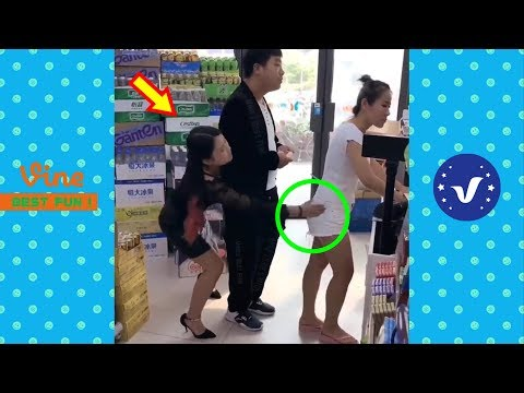 Best Funny Videos 2019 ● Cute girls doing funny things P5