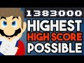 What is the Highest Possible High Score in Super Mario Maker?