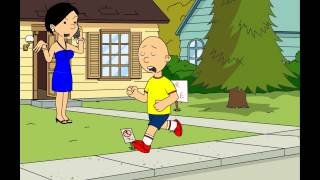 Caillou grounds Charlie Brown and gets grounded
