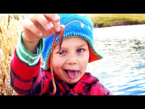 My Kid Eats Worms!