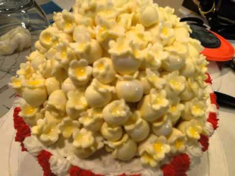 Cake And Popcorn Watch Tv