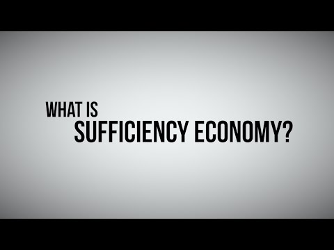 What is Sufficiency Economy?