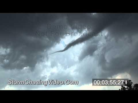 5/23/2011 Longdale, OK Tornado B-Roll Stock Footage