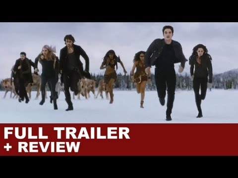 Twilight Breaking Dawn Part 2 Official Trailer 2 MTV VMA + Trailer Review : HD PLUS