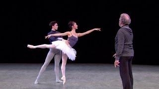 The Sleeping Beauty rehearsal (The Royal Ballet)