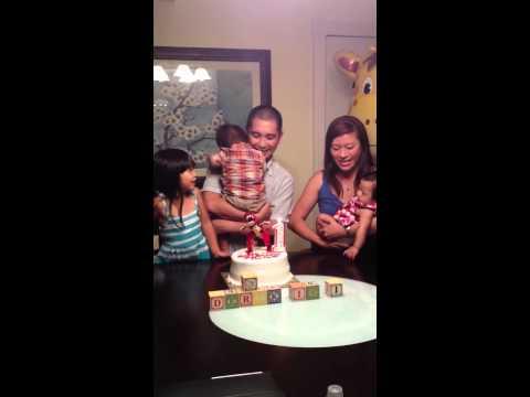 Derek's 1st Birthday