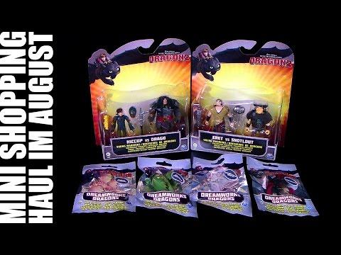Dragons - Mini Shopping Haul im August 2014 / Re-Upload