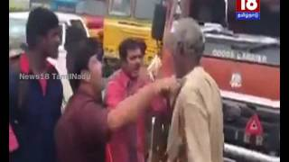 Cauvery Issue: Tamil Nadu lorry driver attacked by pro-Kannada outfits | News18 TamilNadu