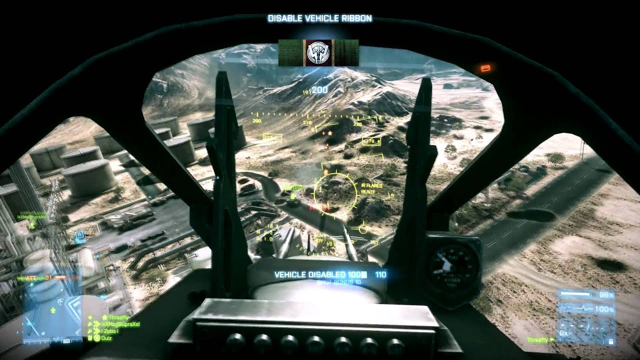Battlefield 3 - PC, how do I equip the pod rockets ...