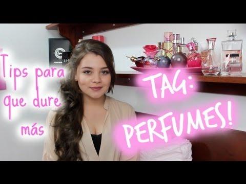 TAG: Colección de Perfumes + Tips para que duren más!