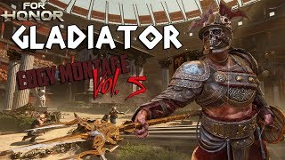 For Honor: Edgy Gladiator Montage (NEW HERO)