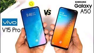 Samsung Galaxy A50 vs Vivo V15 Pro Finger & Speed Test [Urdu/Hindi]