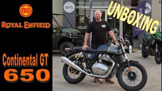 Royal Enfield Continental GT 650 - UNBOXING