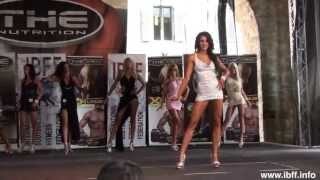 Sexy Miss Fitness Competition Video: THE NUTRITION IBFF World Championship 2013