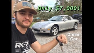 I bought an FD RX7!
