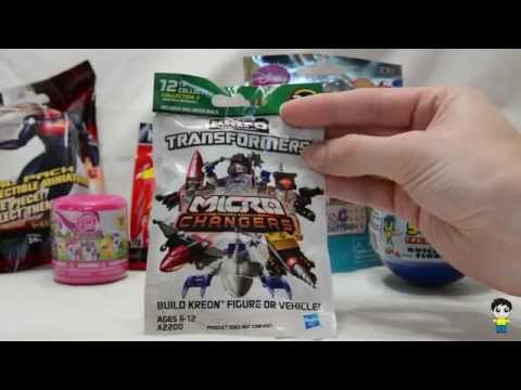 Six Mystery Surprises! Superman, Transformers, Mario, Sonic, Doc and Ponies! - Kinder Surprises