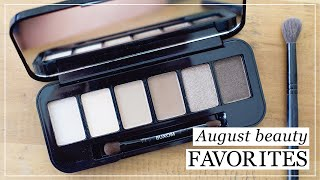 A few August Beauty Favorites
