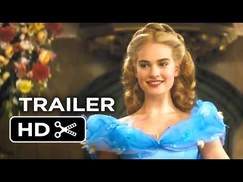 Cinderella Official Trailer #1 (2015) - Helena Bonham Carter Disney Movie HD