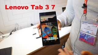 Lenovo Tab 3 7 Hands on