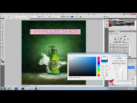 Tutorial Photoshop // Diseño Publicitario - ( Español ) 2012