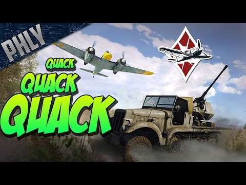 QUACK QUACK TANK HUNTING - ( War Thunder Tanks Gameplay)