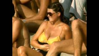 Big boobs at the cricket, Aussie 80's style