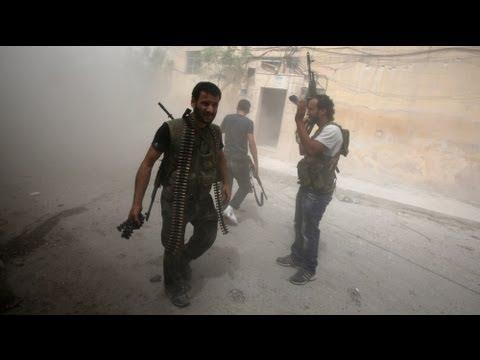 Los rebeldes derriban un avión del Ejército sirio en Idleb