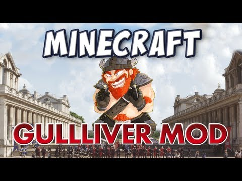 Minecraft - Gulliver Mod - Grow to Giant-size or Shrink to Tiny! Music Videos