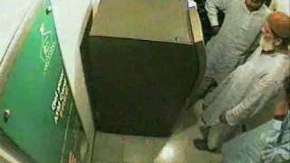 ATM Theft Real Video Bank Al Habib Gulshan e Hadeed  Branch