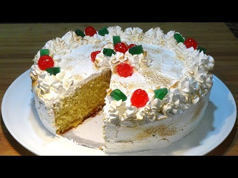 Receta Tarta de Elche o Tarta Alicantina - Recetas de cocina, paso a paso, tutorial