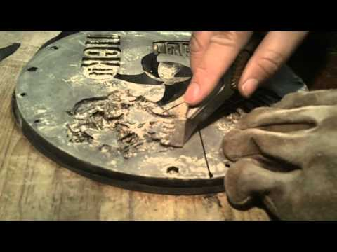 Stoney s Video Blog 5 creating a dragon buckle